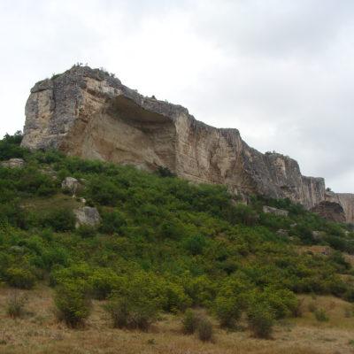 Вид на Качи-Кальон - Каменный корабль