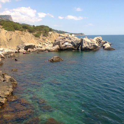 Отдых на природе на пляже