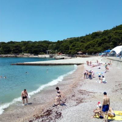 Пляж в Форосе