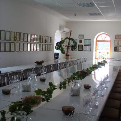 Дегустационный зал в Солнечной долине