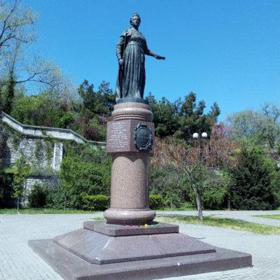 Памятник Екатерине Великой в Севастополе