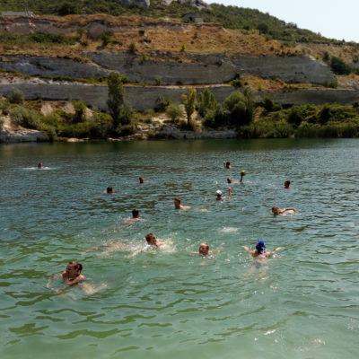 Озеро с водой Святого Климента