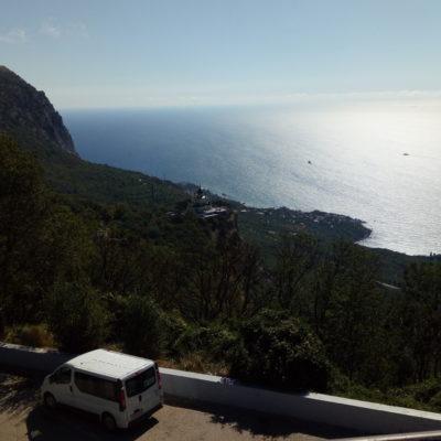 Вид на Форосское побережье