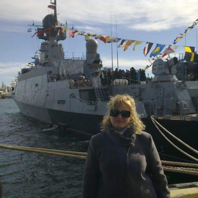 Выставка боевых кораблей