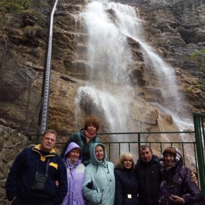 Около водопада Учан-Су