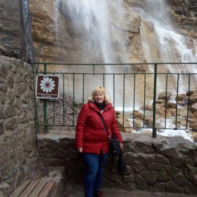 У водопада Учан-Су
