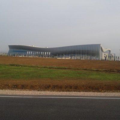 Наш новый аэропорт - как морская волна
