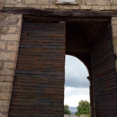 Ворота в крепость Чуфут-Кале