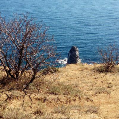 Вид на скалу Орест на Фиоленте