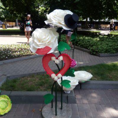 Выставка на Приморском бульваре