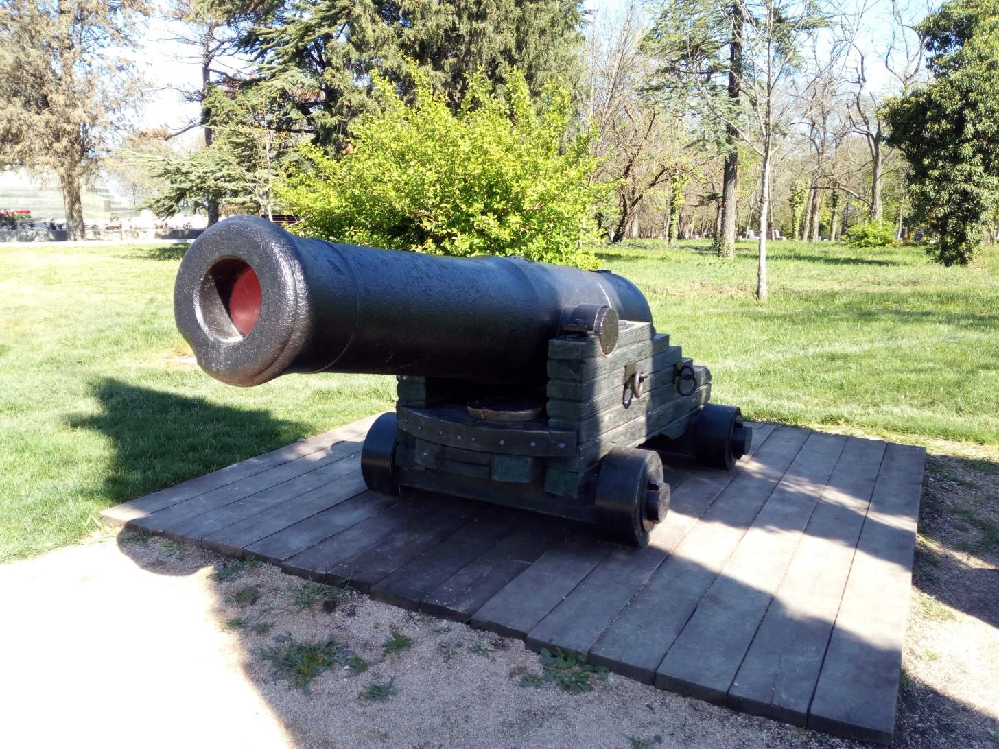 68-фунтовая бомбическая пушка