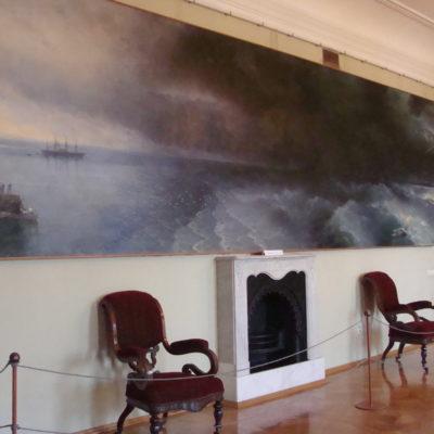 Картина Айвазавского в Феодосии