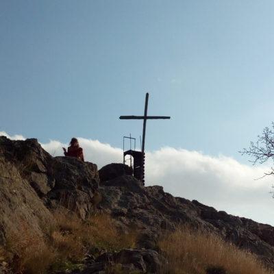 Крест на скале Ифигения