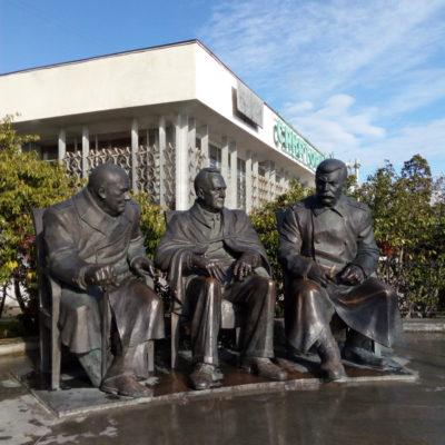 Памятник участникам Ялтинской конференции, Ливадия