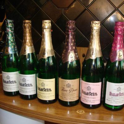 Шампанское Нового Света