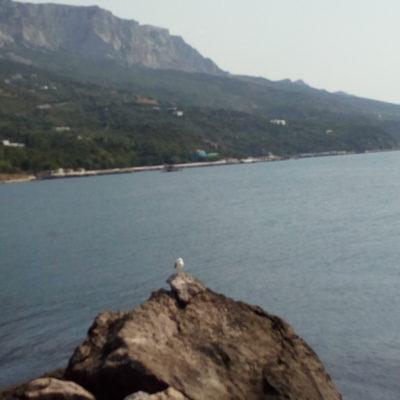 Вид с набережной Мелласа на побережье