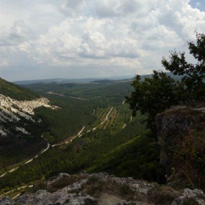 Вид на Крымские горы