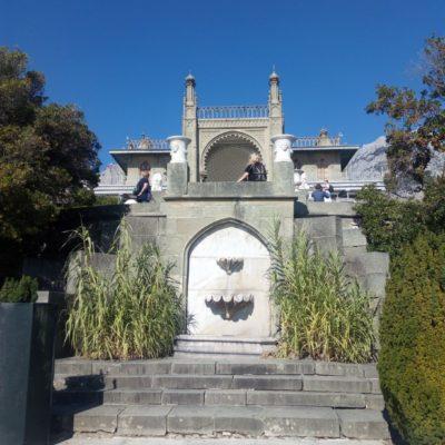 Каскад террас Алупкинского дворца