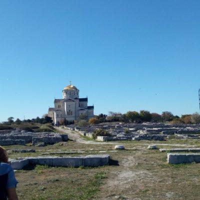 Городище Херсонеса и Владимирский собор