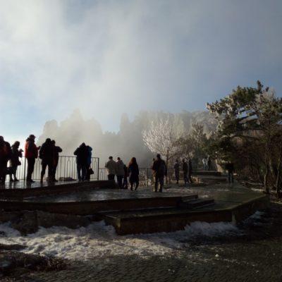 На Ай-Петри зимой