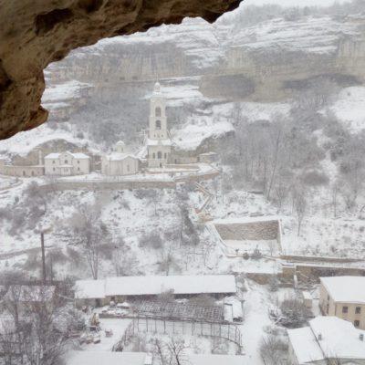 Вид с балкона монастыря